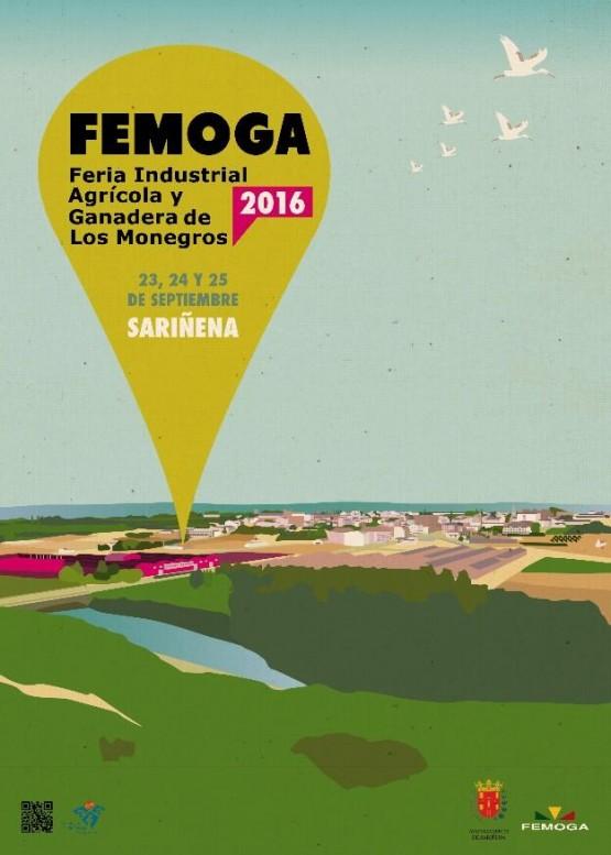 Cartel FEMOGA 2016