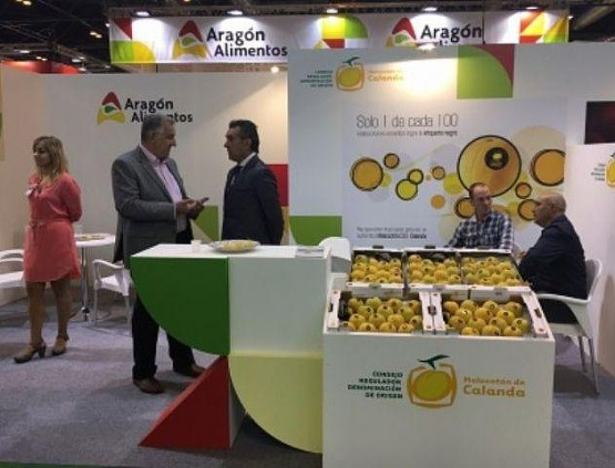 Stand de Aragón en Fruit Attraction