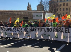 Manifestación Zaragoza 10 marzo