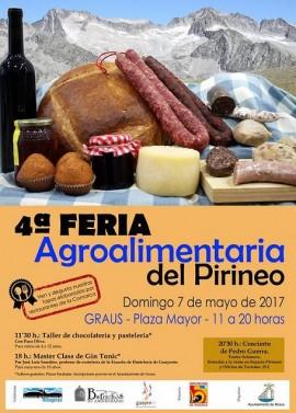 Cartel 4º Feria Agroalimentaria del Pirineo