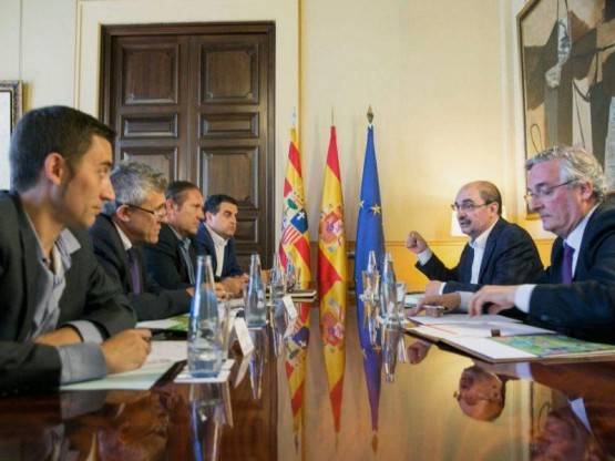 Reunión Lambán Olona y Asociaciones Agrarias