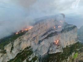 Incendio Ordesa y Monte Perdido