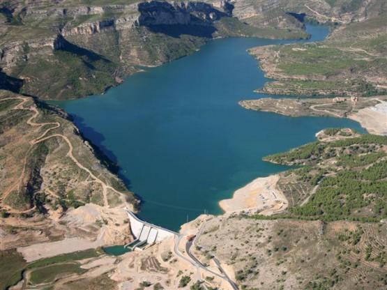 Embalse Santolea (Teruel)