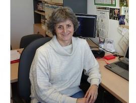 Pilar Catalán, profesora e investigadora de la Escuela Politécnica de Huesca
