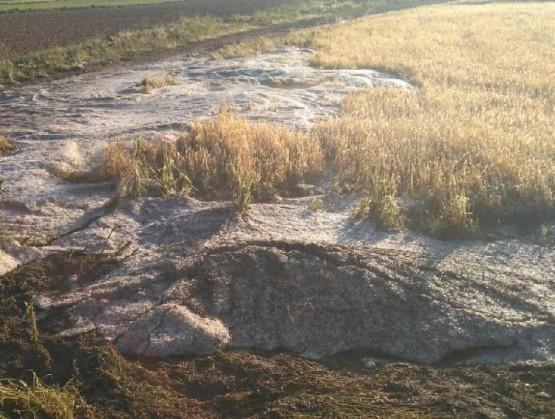 Granizo en Daroca