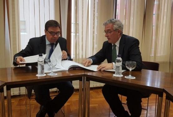 Joaquín Olona y Luis Planas